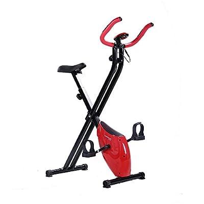 Confidence Fitness Folding X-Bike, Red