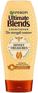 [Garnier ] ガルニエ究極の蜂蜜強化コンディショナー360ミリリットルをブレンド - Garnier Ultimate Blends Honey Strengthening Conditioner 360ml [並行輸入品]