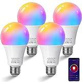 Ampoule Connectee AISIRER Ampoule WIFI LED...