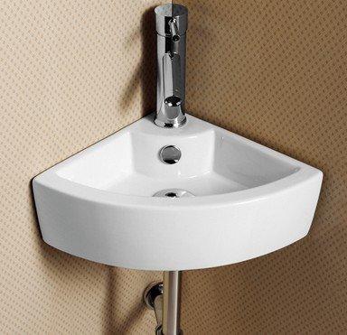 Home Supplies HS107 - Lavabo sospeso per bagno, lavandino