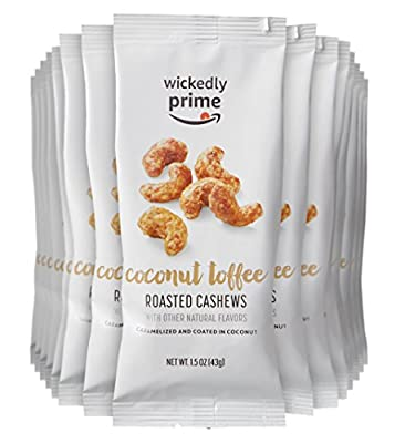 Wickedly Prime Roasted Cashews, Coconut Toffee