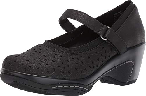 RIALTO Women's Visalia Clog Black/Shimmer Smooth Size 10M, 10