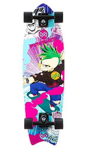 Punisher Skateboards Anime Complete Cruiser Skateboard