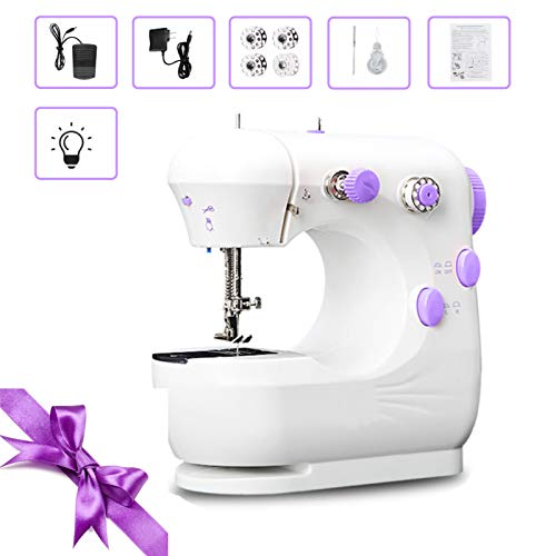 MINI Electric Sewing Machine Handheld Household Sewing Machine Lightweight Hand Sewing Machine for Beginners, Kids, Crafting DIY, Travel, Quick Repairs and Small Projects