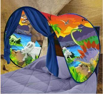 Bureze Tienda de campaña de ensueño para bebés y niños niños y niñas, cama de castillo de...