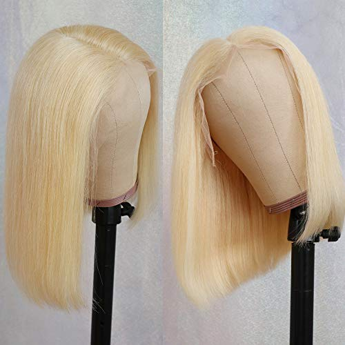 Lovestory 13x6 Lace Front Wig 613 Bob Wigs For Fashion Women Heat Resistant Synthetic Wigs With Natural Hairline 180 Density 14 Inch
