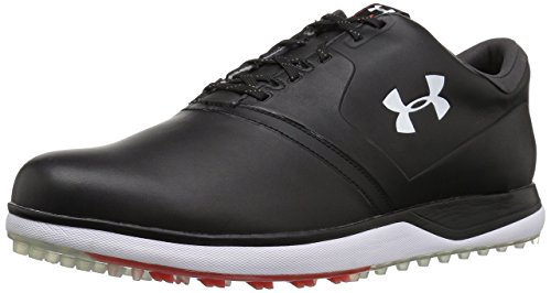 Under Armour Performance SL Zapatos de golf de piel para hombre, negro (Negro (001)/Sultry), 40.5 EU