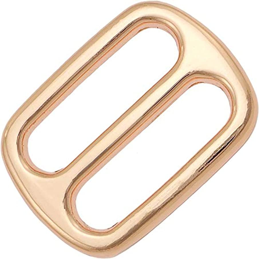 Rose Gold - 1 inch Wide Tri-Slide - Package of 12