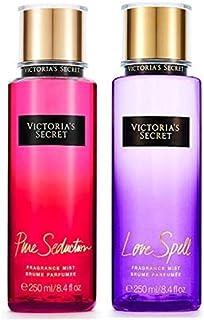 Victoria's Secret Fragrance Body Mist 2 pcs Set Love Spell Plus Pure Seduction, 2x250ML