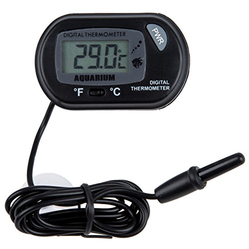 SODIAL (R) Termometro Digitale LCD Acquario Vivarium Vivarium -50 ¡ã C a 70 ¡ã C