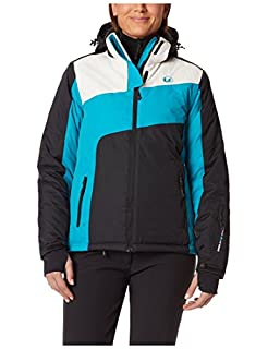 Ultrasport Damen Ski Jacke Kitzbühel, Türkis/Weiß/Schwarz, S, 10371 (B00A2O7IEA) | Amazon price tracker / tracking, Amazon price history charts, Amazon price watches, Amazon price drop alerts