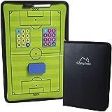 CampTeck U6942 Pizarra Magnética Futbol Pizarra Tactica Futbol Coachboard de Entrenamiento de...