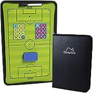 CampTeck U6942 Football Tactics Board Magnetic Football Coaching Tactics Board with Marker Pen & Era...