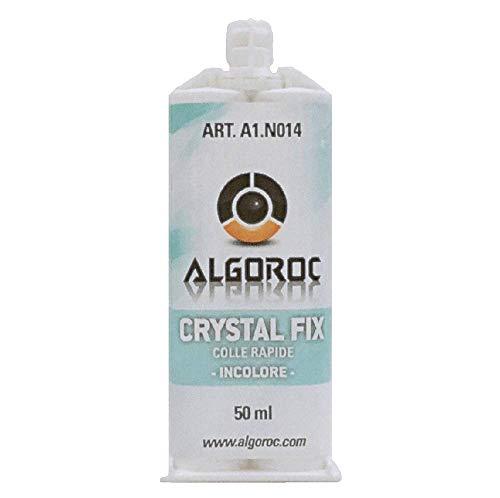 CRYSTAL FIX - Pegamento bi-componentes metacrilato transparente ALGOROC