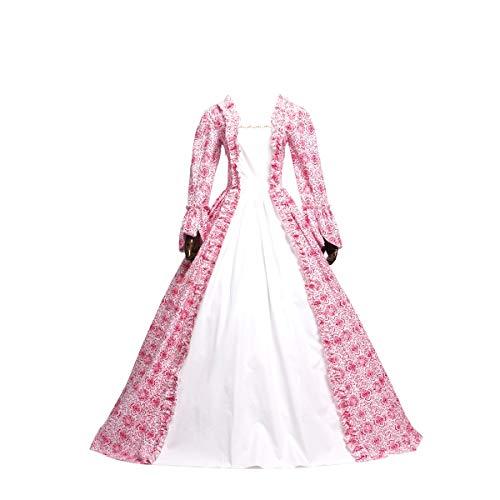 KEMAO Viktorianisches Rokoko-Kostüm Damen Kleid Party Kostüm Maskerade - - Small:Höhe 63/65'...