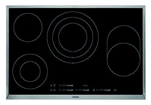 AEG elektrische kookplaat HK 854080 XB zwart 80cm