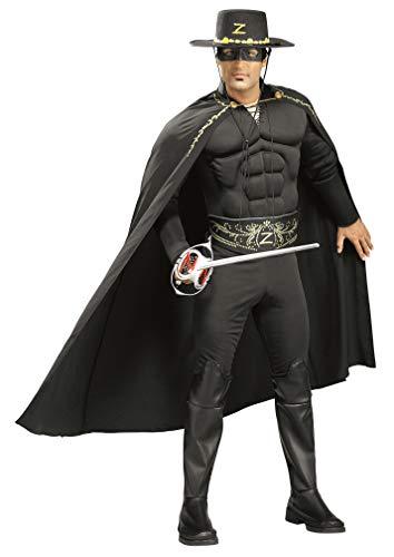 Rubie's-déguisement officiel - Zorro - Déguisement Costume de Luxe- I-56165