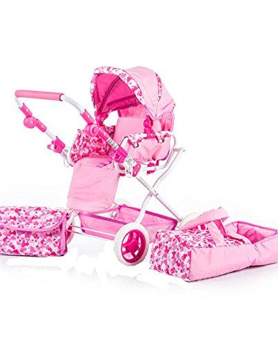 Chipolino Kzkg01702lh Gabby Lovely Hearts poupée Poussette