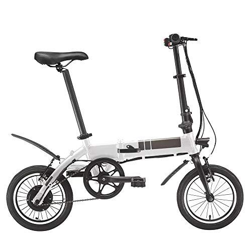 Bicicleta eléctrica 250W sin escobillas del motor eléctrico bicicleta plegable 40KM Velocidad...