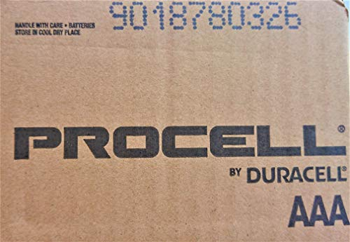 Duracell Procell AAA 144 Counts - 6 Packs (24 Counts in Each Pack)