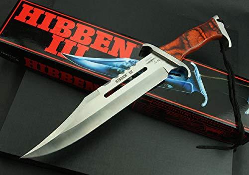 ORIGINAL Rambo 3 Messer - First Blood Part III - Sylvester Stallone - HIBBEN III Mega Kult Bowie Messer - Gil Hibben Signatur auf Klinge
