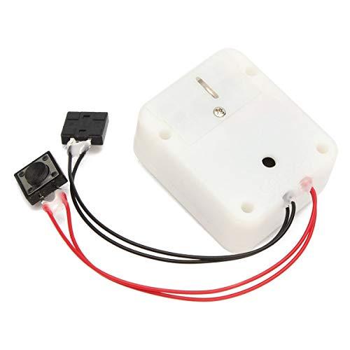 SODIAL Elektronische Taste Spieluhr Beschreibbare Sprachmodul Aufnahmebox Stimme Box Aufnahme Bewegung Spielzeug Liefert Geschenke
