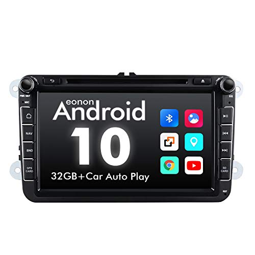 eonon GA9453 Android 10 Compatible with Golf SEAT Skoda 2GB RAM Quad-Core 32GB ROM Bluetooth 5 Car DVD Stereo Autoradio GPS Navigation 8