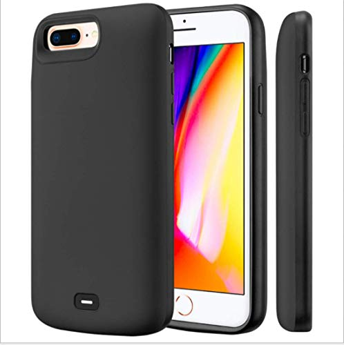 Fey-EU Funda Bateria para iPhone 6/6s/7/8/SE 2020 [4.7 Pulgadas] 5500mAh Batería Cargador Externa para iPhone SE 2020/8/7/6/6S Recargable Backup Charger Case Portátil Power Bank Case