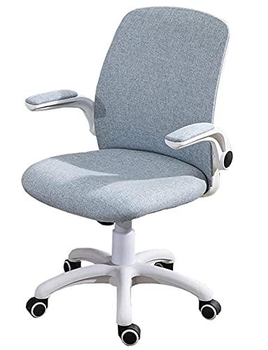 Samt-Schreibtisch-Stuhl-Verbandstuhl mit goldenem Metall-Bein Rollender Swivel-Verstellbarer mittlerer Rücken-Task-Lehrstuhl für Konferenz Home Office (Pink)   Commodity-Code: LJW-167