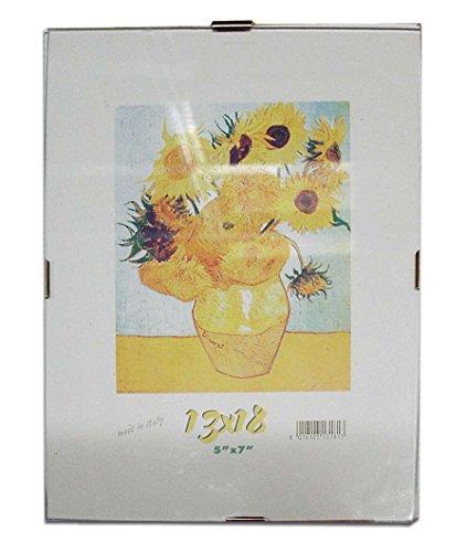 Cornice a Giorno 50X70 Lastra in Crilex e supporto in cartone pressato x Poster