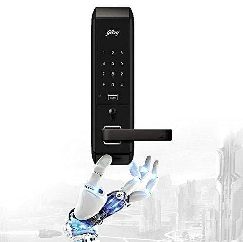 Godrej Locks Advantis 5259 ABS Plastic Digital Door Lock (Black)