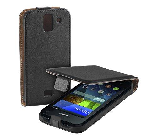 yayago Flip Tasche für Huawei Y3 Schutzhülle Flip Hülle Hülle Klapphülle Schwarz
