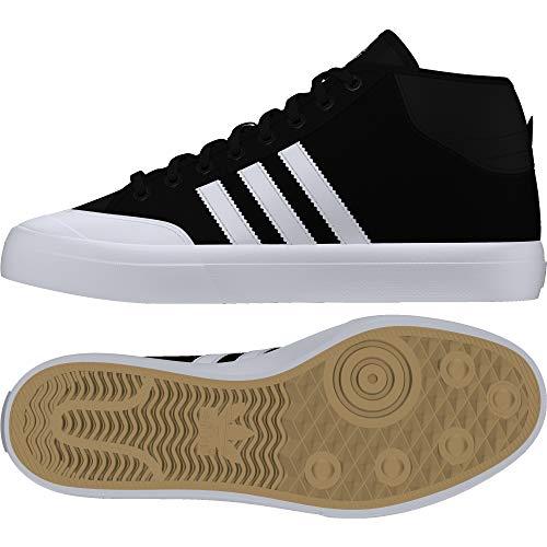 adidas Herren Matchcourt MID Skateboardschuhe, Schwarz (Cblack/Ftwwht/Ftwwht 000), 48 2/3 EU