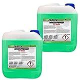 Flotex, detergente concentrato per officina, 2 x 10 l, detergente universale per officina, capannoni