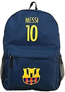 3f6c3ff6f Forever Fanatics Barcelona Messi #10 Soccer Backpack ✓ Premium Unique  School Bag for Messi #