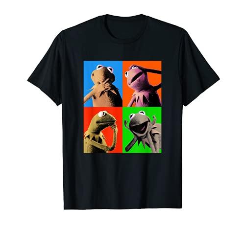 Disney The Muppets Kermit The Frog Pop Art Camiseta