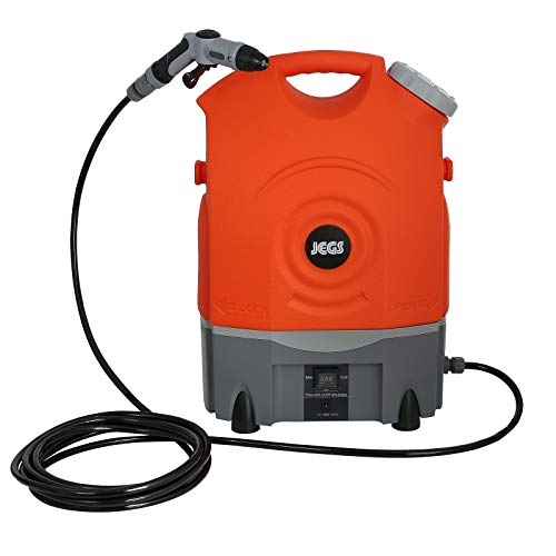 Jegs HT3 12V Rechargeable Portable Pressure Washer Cleaner - Space Saving Design