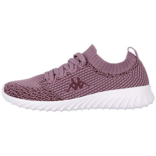 Kappa Unisex-Erwachsene SNEEM Sneaker, Lila (Lila/White 2310), 36
