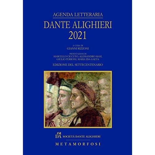 Agenda letteraria Dante Alighieri 2021