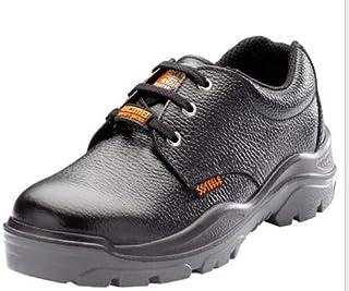 ACME Storm Leather Safety Shoes Black (Size - ACME007_40)