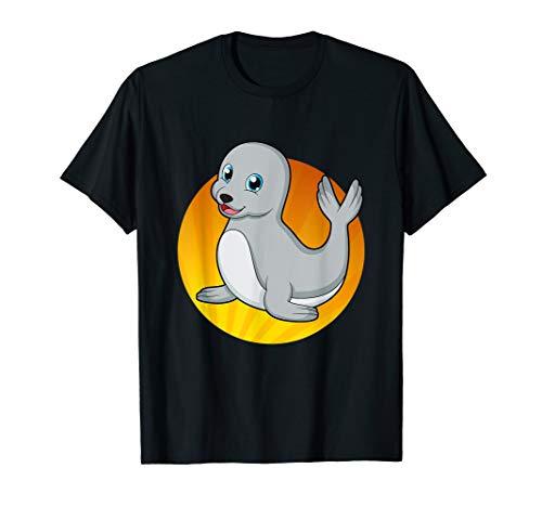 Süße Robbe Seehund Seelöwe Seerobbe T-Shirt