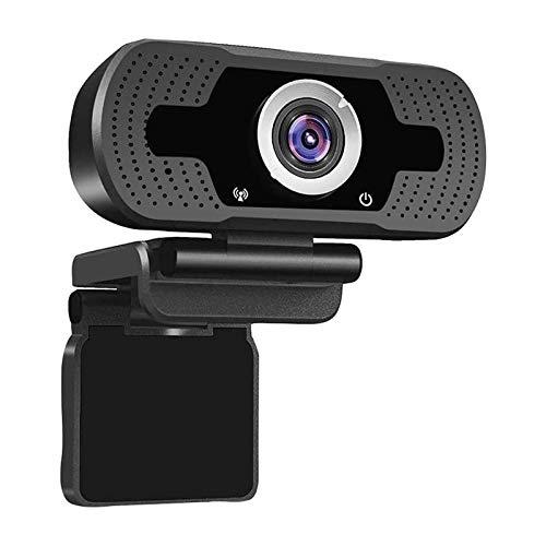 Full HD 1080p Web CAM Desktop PC Video Llamando A La Cámara Webcam con Micrófono JNSXT (Color : Black)