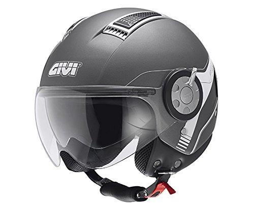 Givi HPS 11.1 AIR DEMI-Jet-Helm, Titan, L
