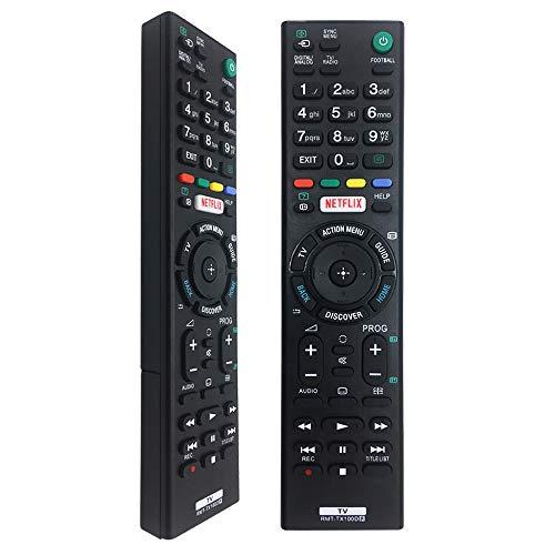 Nuevo Reemplazo Mando a Distancia Sony Bravia RMT-TX100D para Mando TV Sony RMT-TX100D RMT-TX102D RMT-TX200E RMT-TX300E- No Se Requiere Configuración Mando Distancia Sony TV Bravia