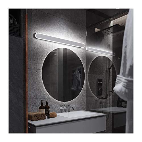 WYZ. Spiegel frontlamp LED badkamerkast badkamer spiegelkast dressing moderne persoonlijkheid eenvoudige badkamer-spiegellamp [energieklasse A +] (kleur: warm licht)