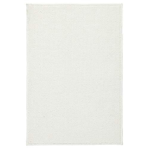 IKEA FINTSEN - Alfombrilla de baño antideslizante, 40 x 60 cm, color blanco