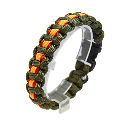 Pulsera Green Line Paracord Albero Guardia...