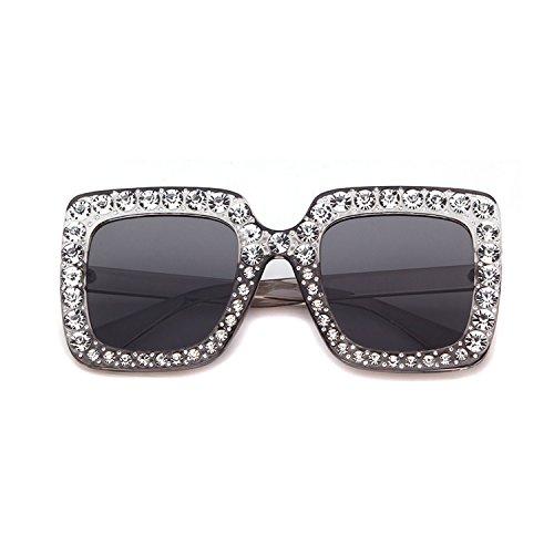 ADEWU Gafas de sol de diamantes brillantes deslumbrantes...