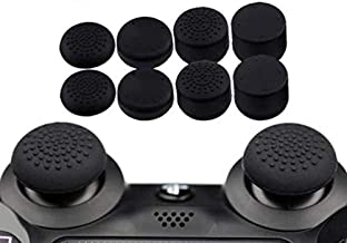 8pcs Enhanced Silicone Analog Controller Thumb Stick Grips Cap Skin Cover Extra High for PlayStation 4 PS4 thumbstick