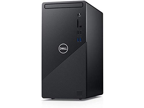 2021 Newest Dell Inspiron Desktop PC, Intel Core i5-10400, 12GB DDR4 RAM 1TB HDD, HDMI, WiFi Bluetooth, DVD-RW, Wired Keyboard & Mouse, Windows 10 Home